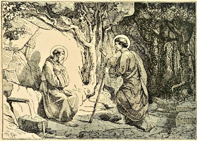 February 28: Sts. Romanus and Lupicinus, Abbots